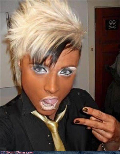 Makeup Fails Ugly Makeup: Barbouillages